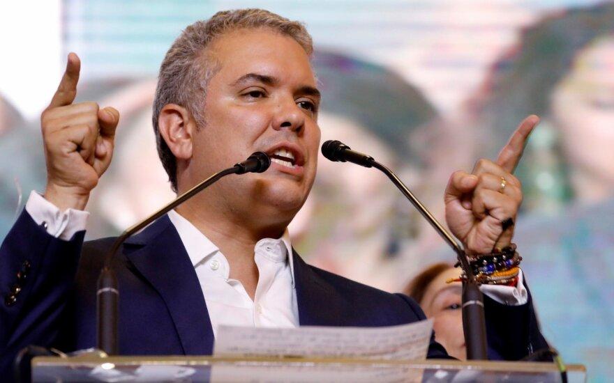 Kolumbijos prezidentas griežtina kovą su narkotikų vartojimu