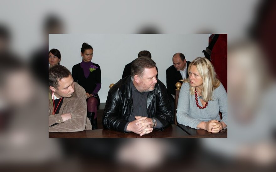 Petras, Vytautas ir Liudmila Petkevičiai