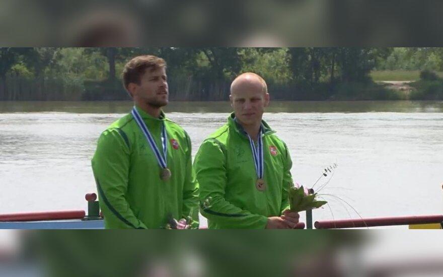 Aurimas Lankas ir Edvinas Ramanauskas