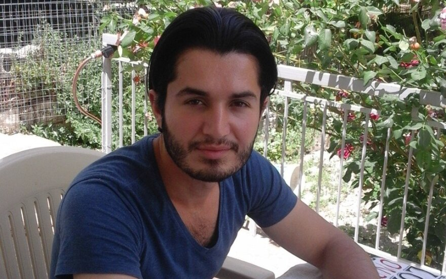 Redwan Eid, a Syrian journalist and refugee in Lithuania
