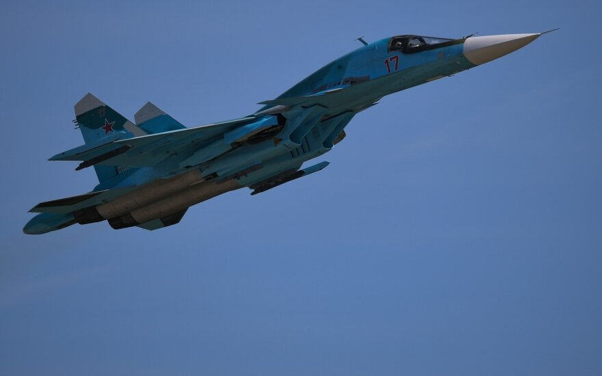 Rusija skelbė nutupdžiusi lėktuvą iš Baltijos šalių, vėliau paneigė