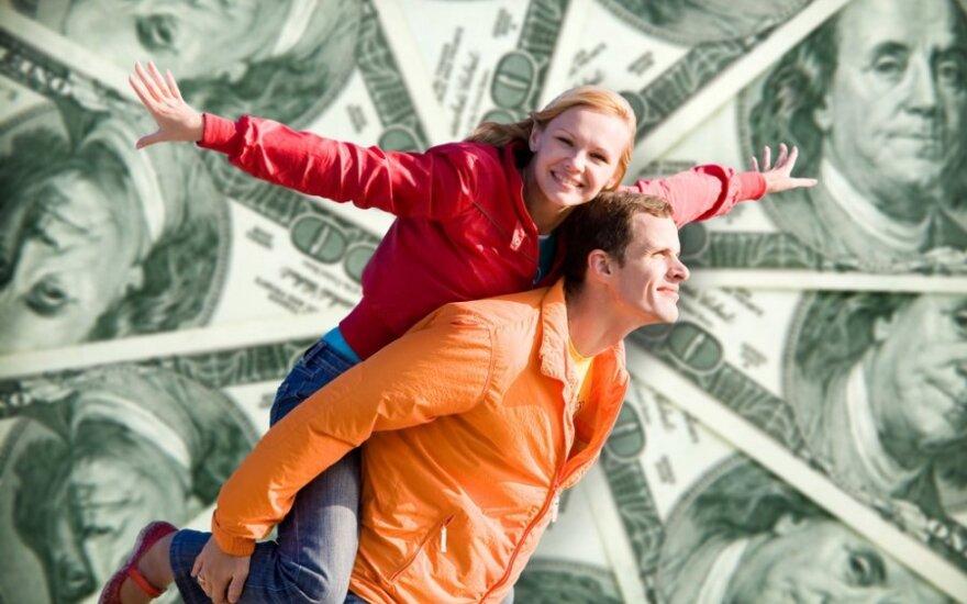 60 proc. šeimoje gyvenančių žmonių neturi asmeninių pinigų