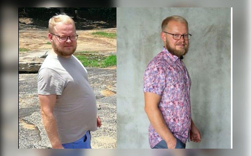 Populiarus būdas mesti svorį Lietuvoje: Viktoro patirtis su minus 16 kilogramų - DELFI