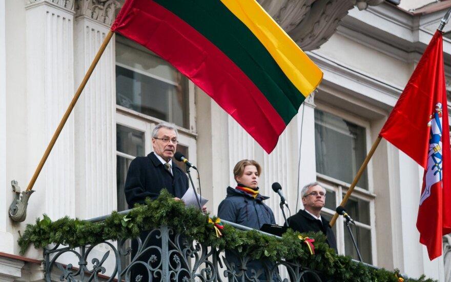 Visa širdimi kartu: Vasario 16–ąją – įkvepiantis Landsbergio laiškas