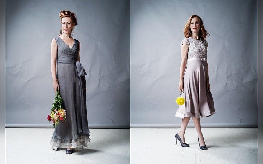 Dizainerės Julijos suknelės