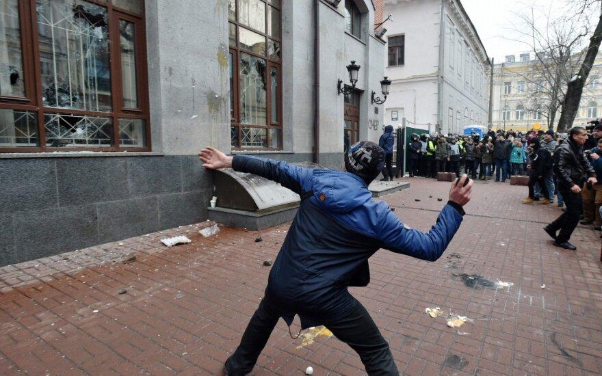"""Kijeve – akcija """"Mirtis Rusijai"""""""