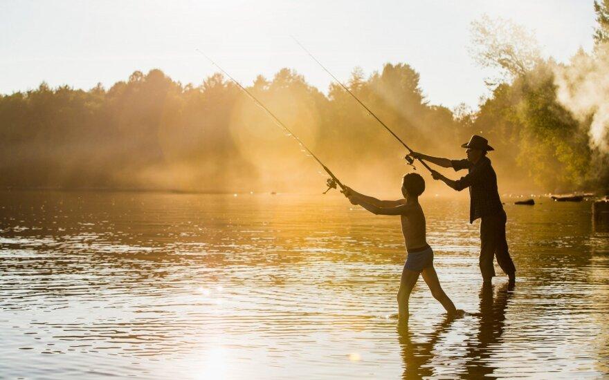 Ar žvejyba ryte tikrai garantuoja sėkmę?