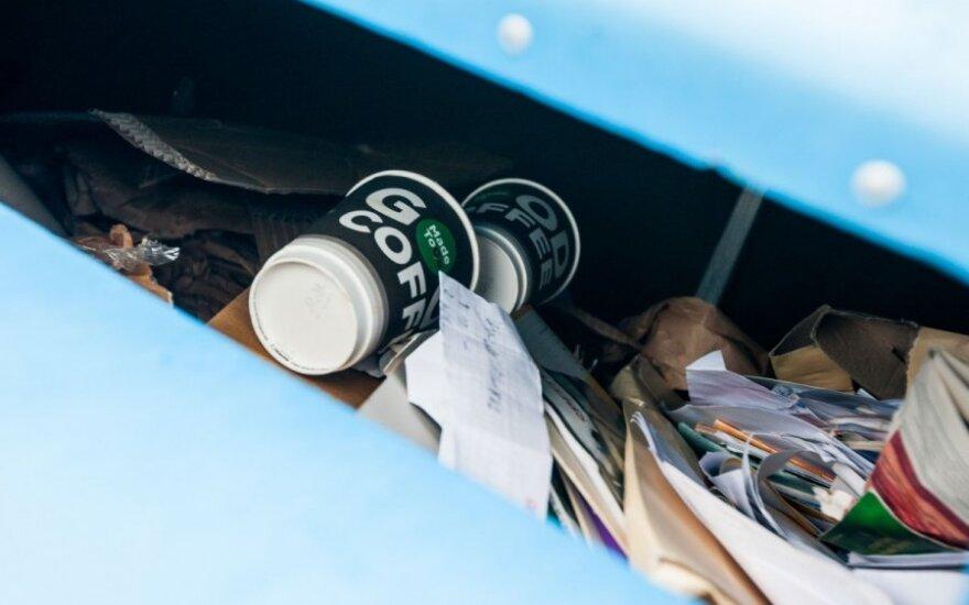 Atliekas reikia rūšiuoti atsakingai