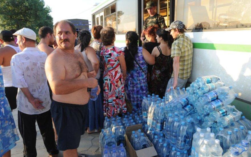 Humanitarinė pagalba Krymsko potvynio aukoms