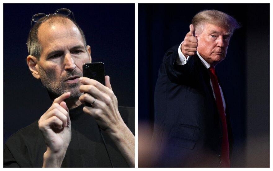 Ne kiekvienam lemta tapti lyderiu – kuo Jobsas ir Trumpas išsiskyrė iš kitų?