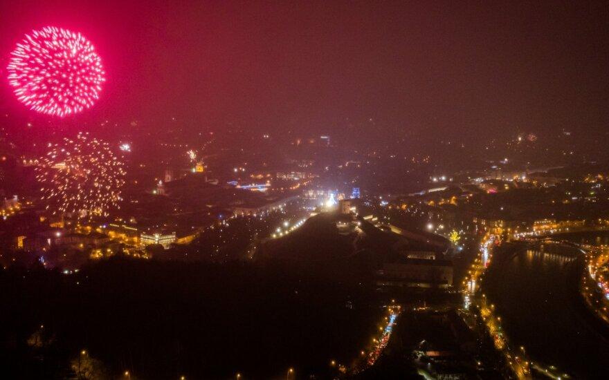 Vilnius sutinka Naujuosius metus