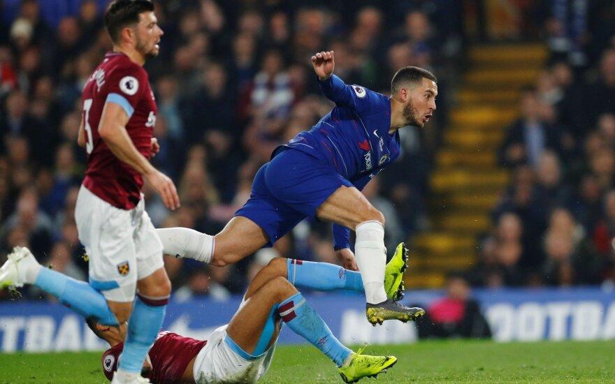 """Londono derbyje – įspūdingas Hazardo reidas ir """"Chelsea"""" pergalė"""