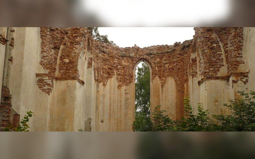 Kęsgailų, vėliau Radvilų bažnyčios liekanos Deltuvoje, Mangirdo Bumblausko nuotr.