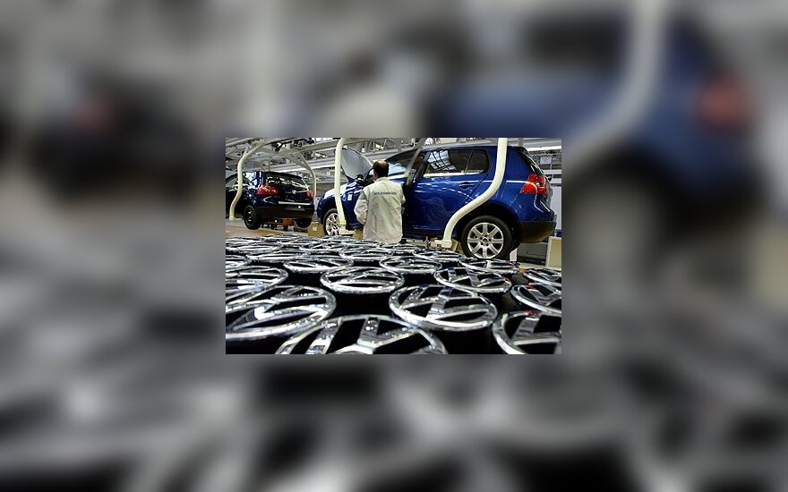 """""""Volkswagen"""" gamykla"""