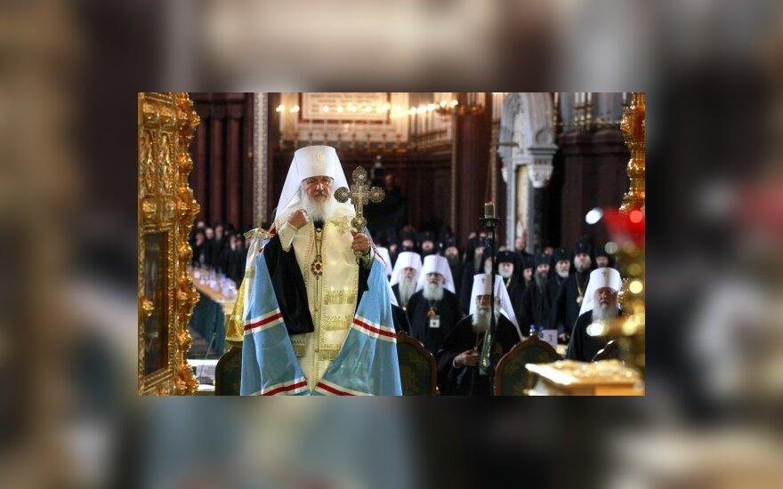 Rusijos stačiatikių patriarchas nori skristi į kosmosą