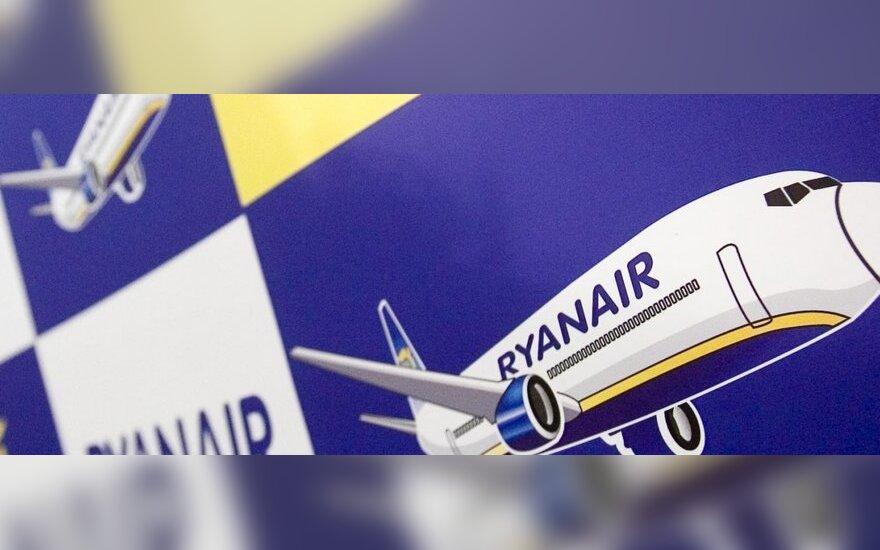 """""""Ryanair"""" skraidys iš Vilniaus"""