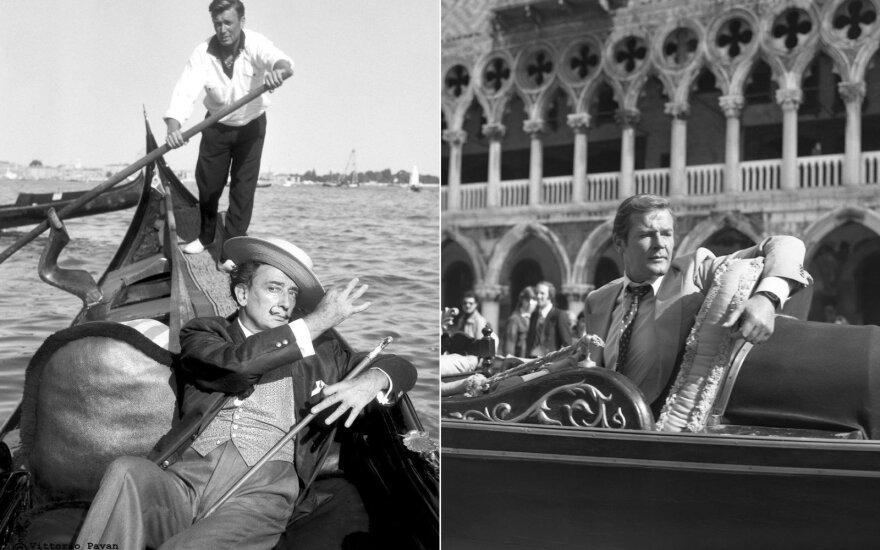 Salvador Dali, Roger Moore