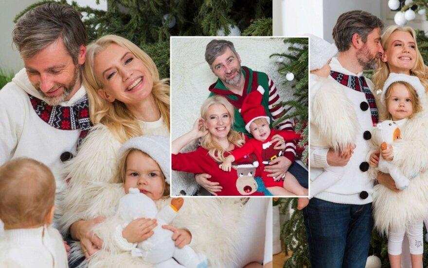 Erikos Purauskytės šeimos fotosesija / Foto: Greta Skaraitienė, Martynas Sirusas