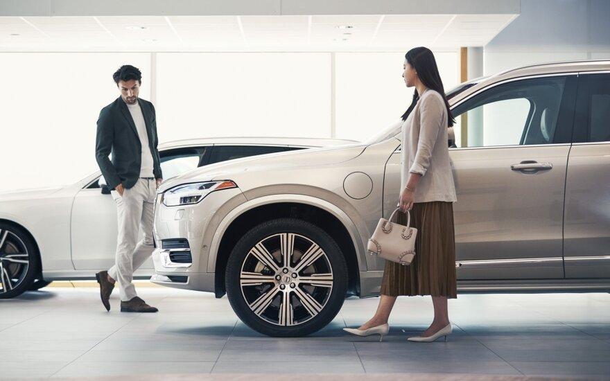 Volvo automobilių aptarnavimas
