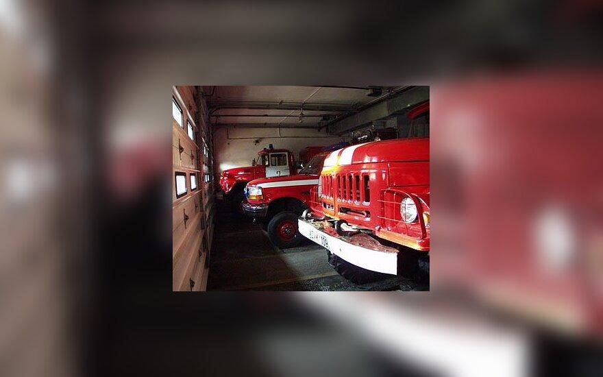 Ugniagesių automobiliai
