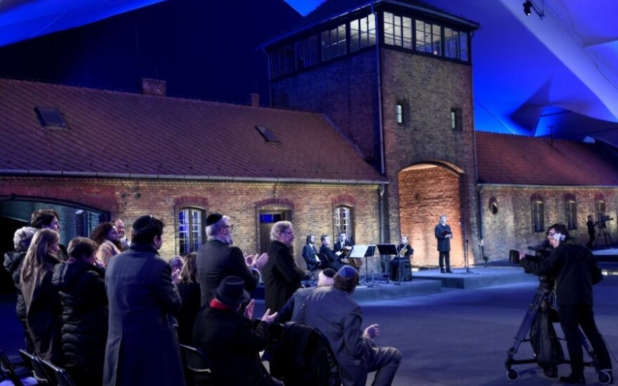 Lithuanian foreign minister joins Holocaust remembrance event in Auschwitz