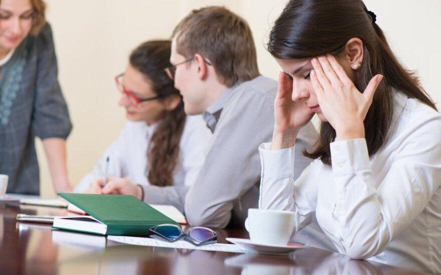 Ar verta dirbti nemėgstamą darbą?
