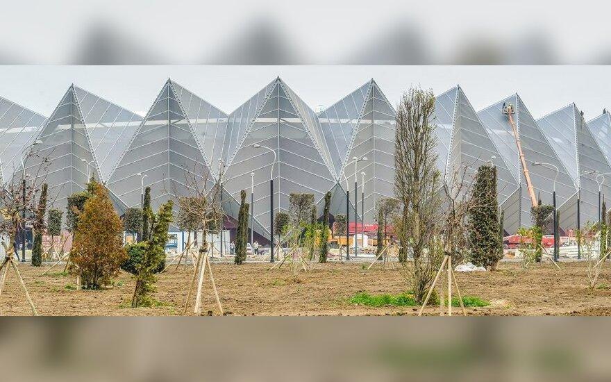"""Baku """"Crystal Hall"""" arena"""