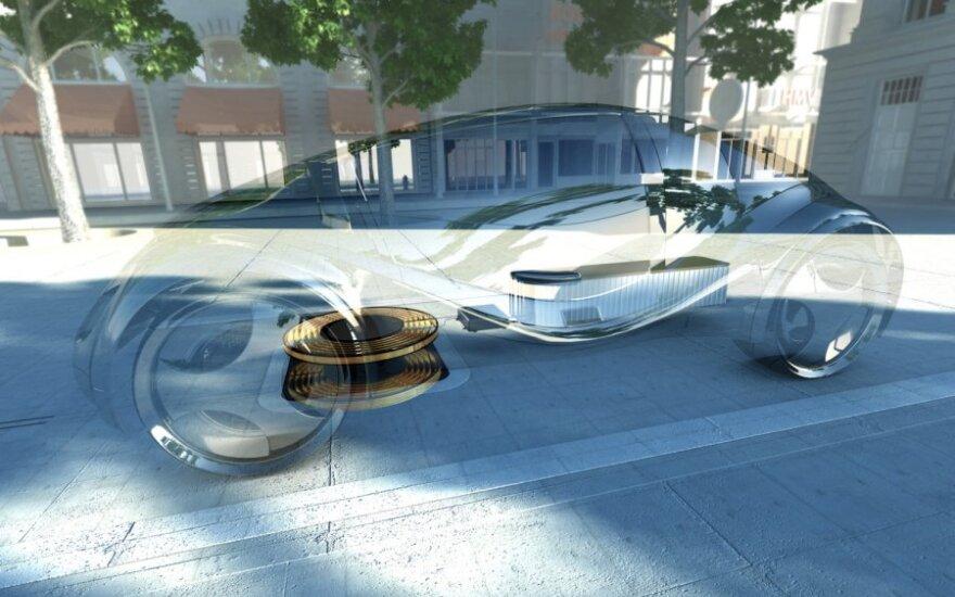 BMW ir Siemens elektromobilių įkrovimo vizija