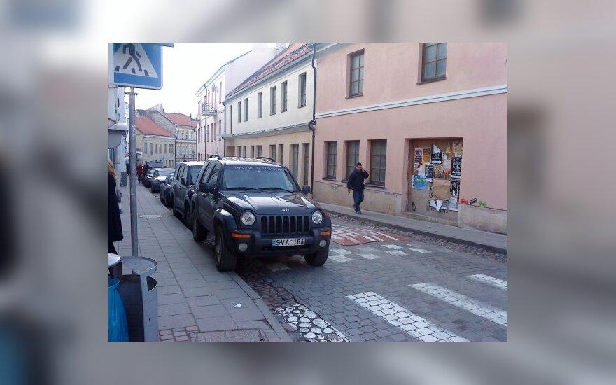 """Vilniuje, Užupio g. 7, prie """"Ikiuko"""" parduotuvės. 2009-11-22, 13.45 val."""