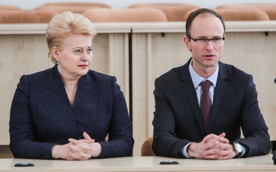 Dalia Grybauskaitė, Rimvydas Norkus