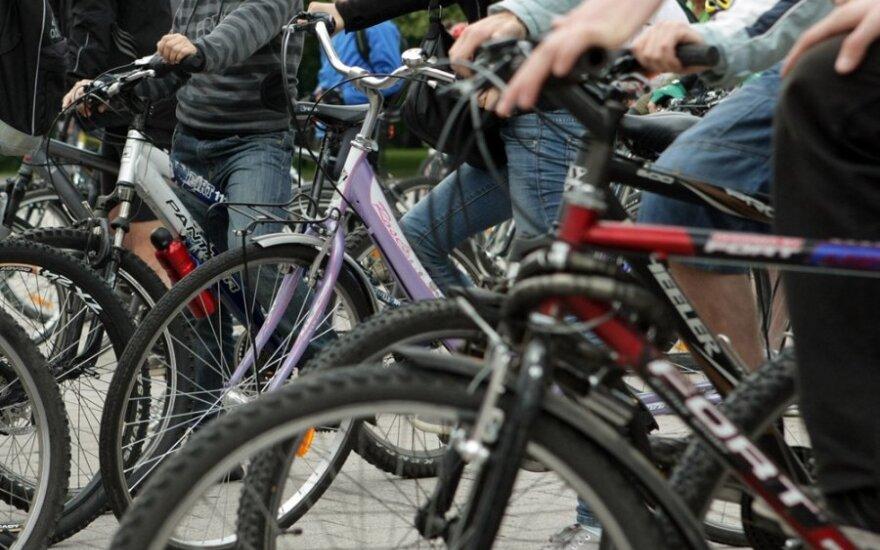 Nauja problema Kopenhagoje: dviratininkų - per daug