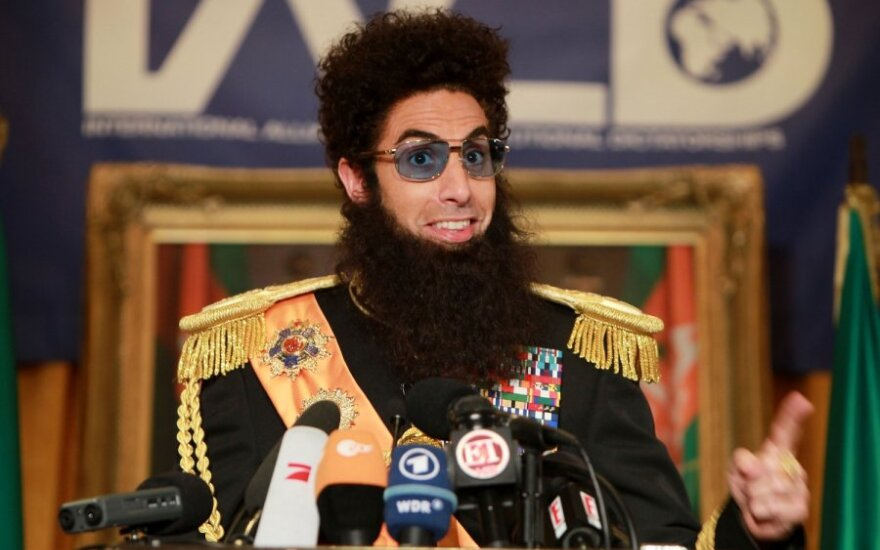 Sasha Baron Cohen personažas Diktatorius