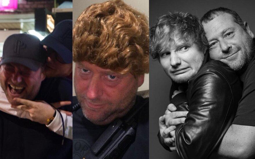 Kevinas Meyersas ir Edas Sheeranas