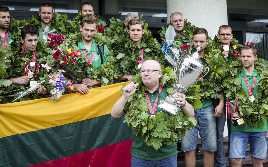 Lithuania's Deaf Basketball Team