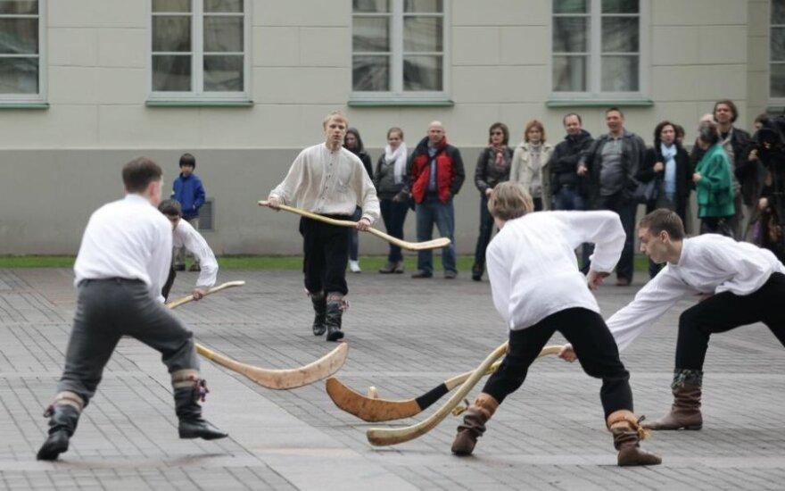Senovės lietuvių pamėgtas ritinis džiugins ir TAFISA žaidynių dalyvius