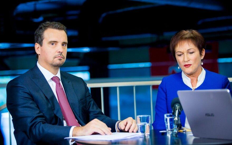 Aivaras Abromavičius and Birutė Vėsaitė