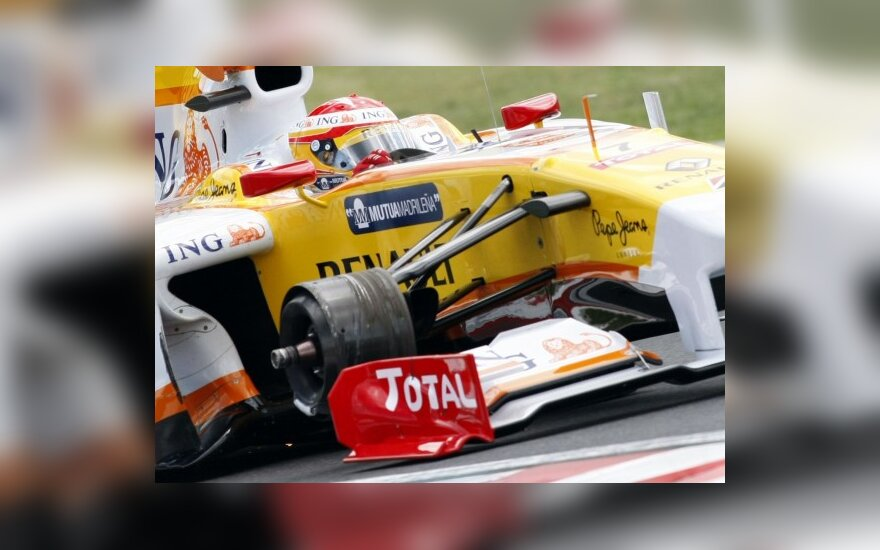 "Fernando Alonso ""Renault"" be rato"