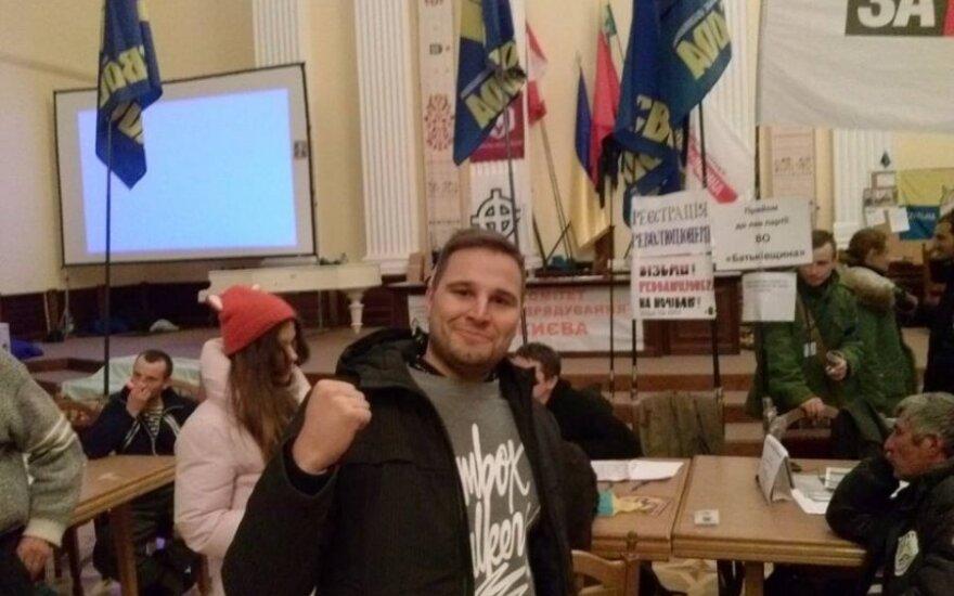 Lietuviai prisijungė prie EuroMaidano