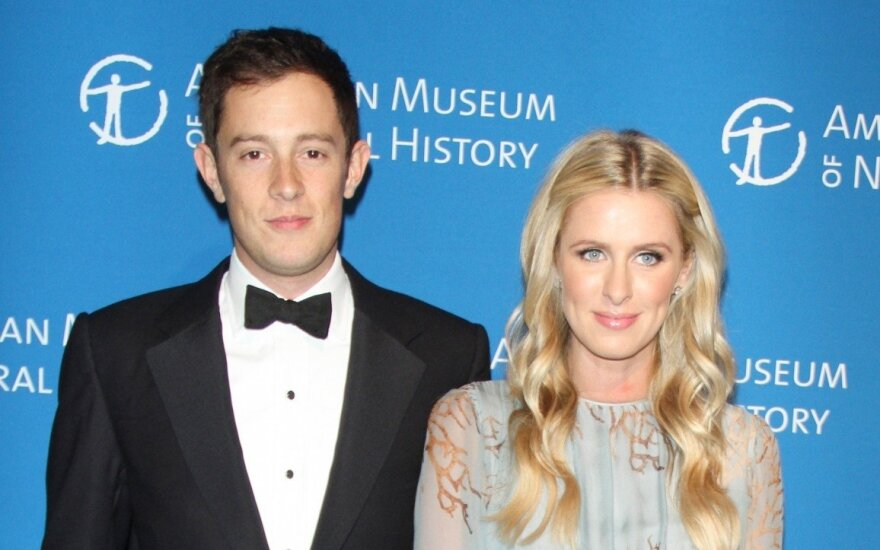 Nicky Hilton ir Jamesas Rothschildas