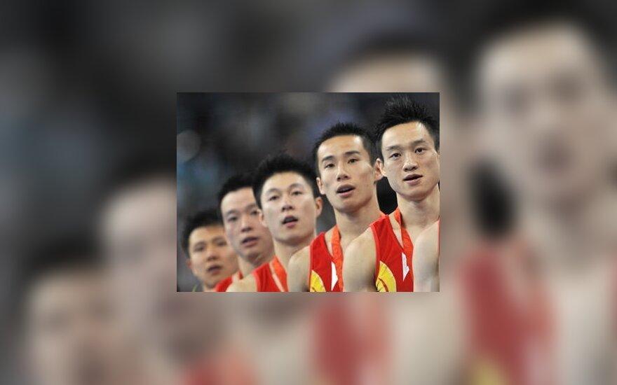 Kinijos sportininkai klastoja savo amžių