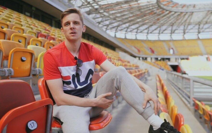 """Arvydas Novikovas, LFF laida """"Laikas futbolui"""""""