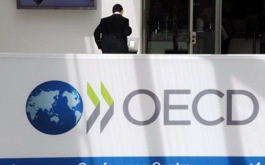 Lithuanian representatives discuss steps towards OECD membership