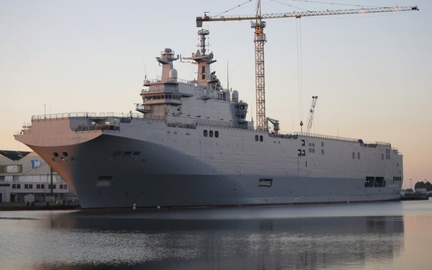 EU will not buy Mistral warships meant for Russia