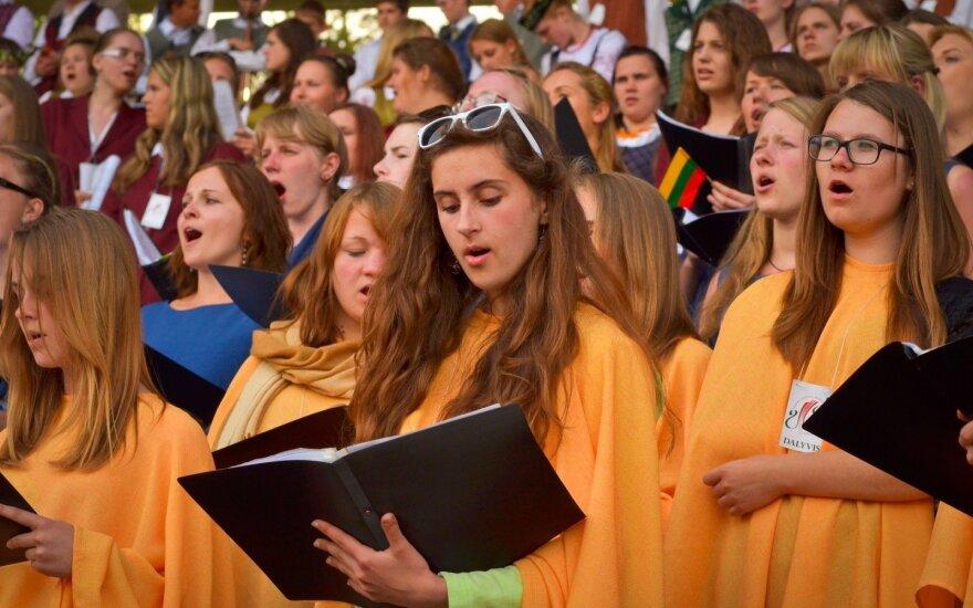 Klaipėdoje Lietuvos vakarų krašto dainų šventė