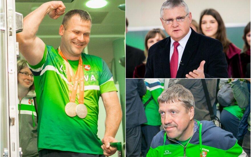 Mindaugas Bilius, Vytautas Kvietkauskas ir Gintaras Zavadckis