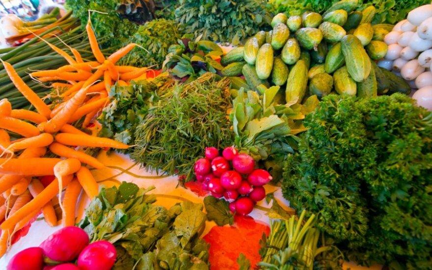 Žemės ūkio produktus supirko brangiau