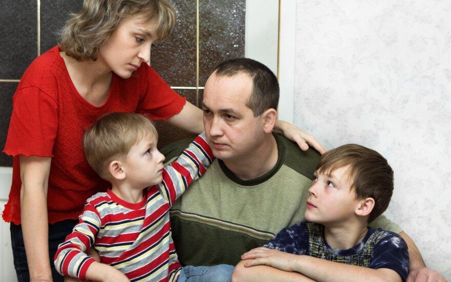 Šeimos situacija nepavydėtina.