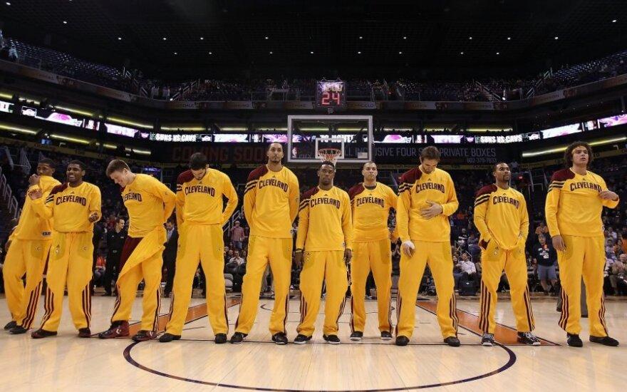"""""""Cavaliers"""" patyrė didžiausią pralaimėjimą savo žiūrovų akivaizdoje"""
