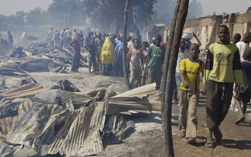 Nigerijoje pagrobtas Vokietijos pilietis