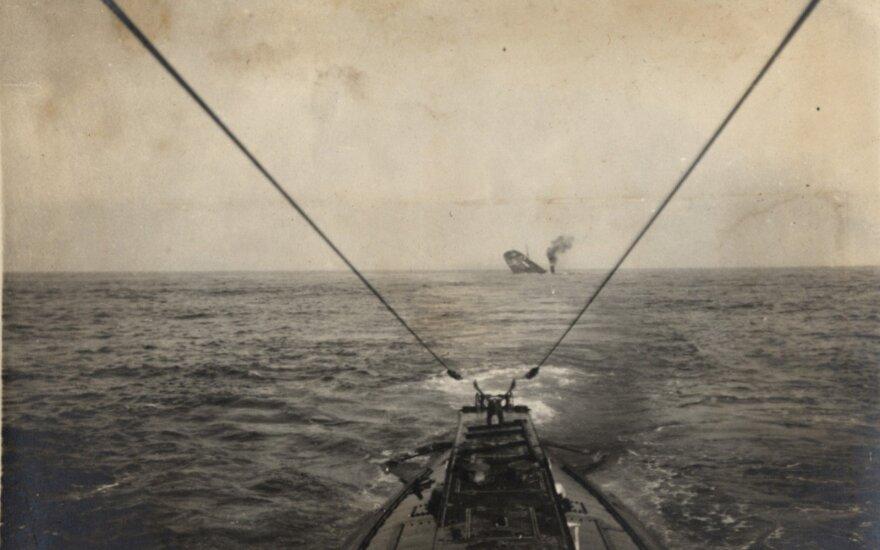 2 pasaulinio karo vokiečių povandeninis laivas